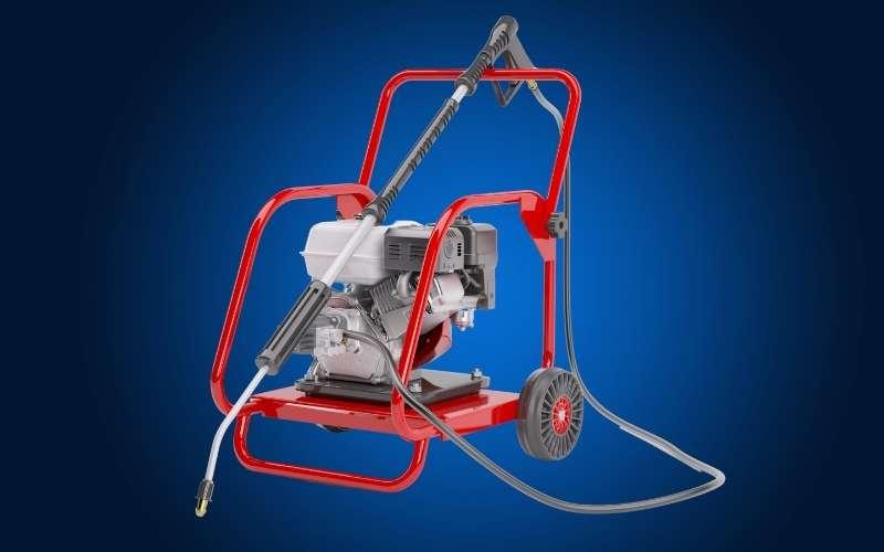 gas powered pressure washer
