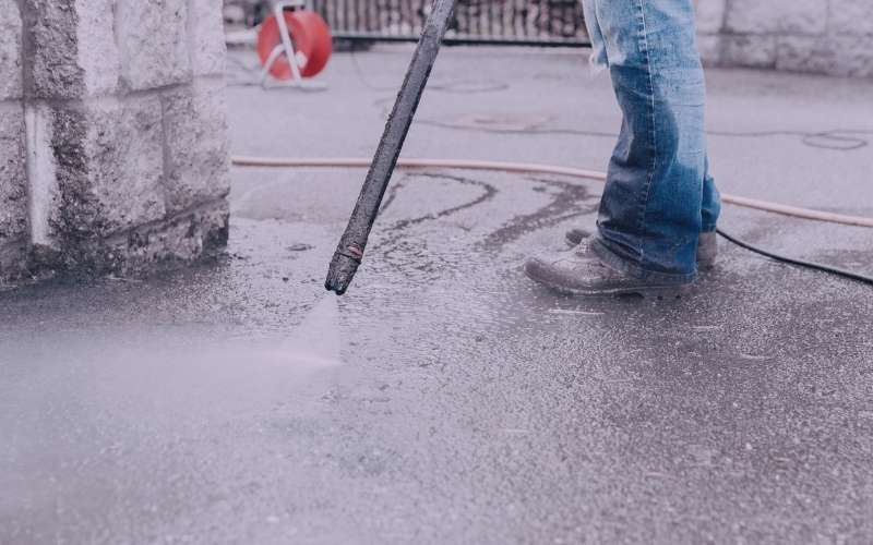 yes you can damage concrete with a pressure washer