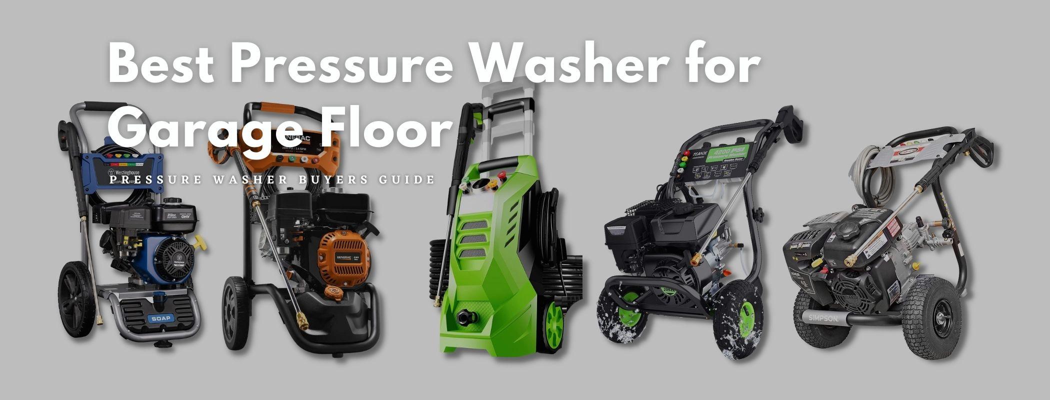 Best Pressure Washer for Garage Floor - Buyers Guide (1)