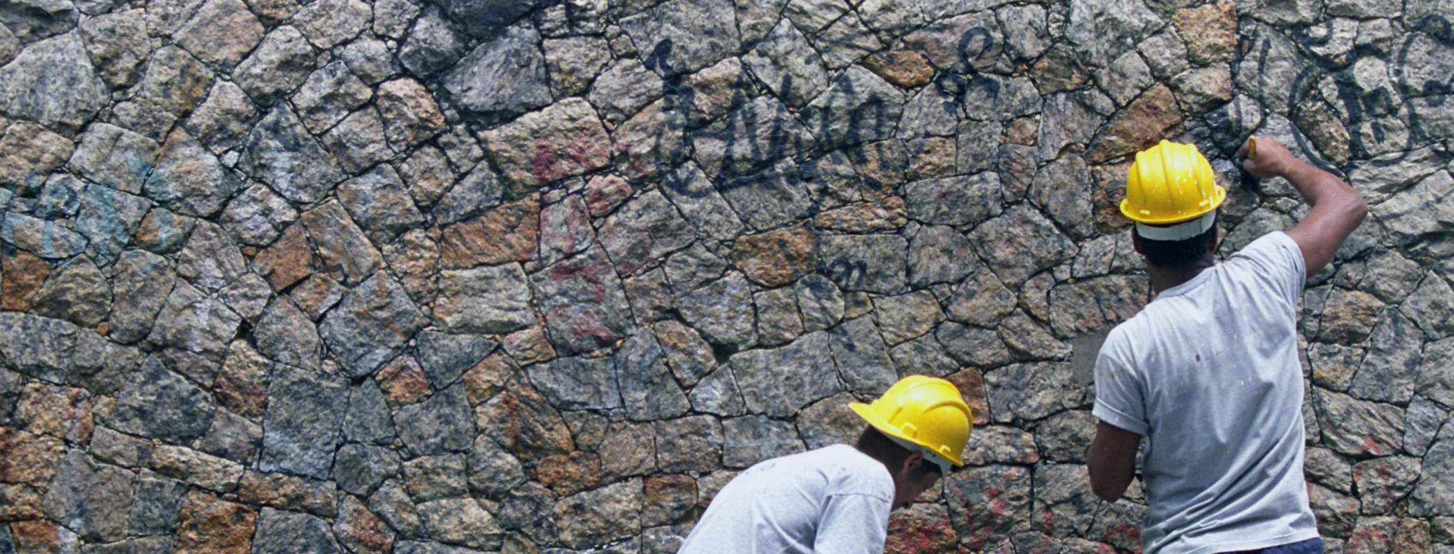 removing graffiti